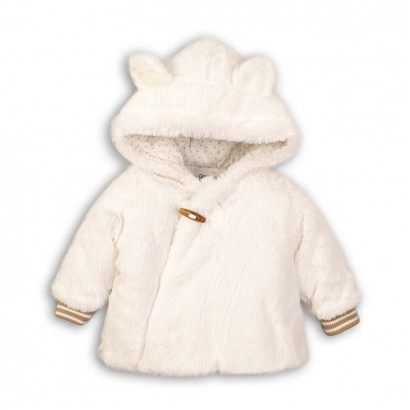 Baby Girl Fluffy Jacket Babaluno