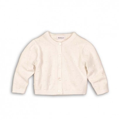 Baby Girls Embossed Cardigan Babaluno