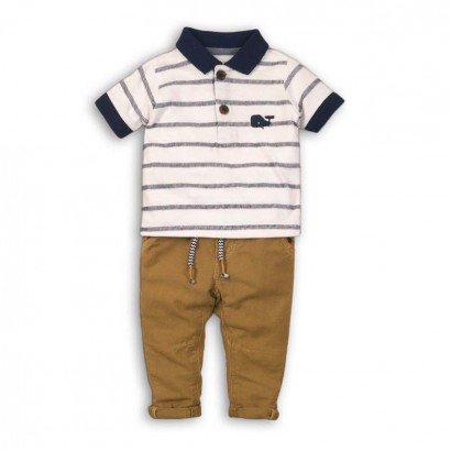 Baby Boys Polo and Trousers Set Babaluno