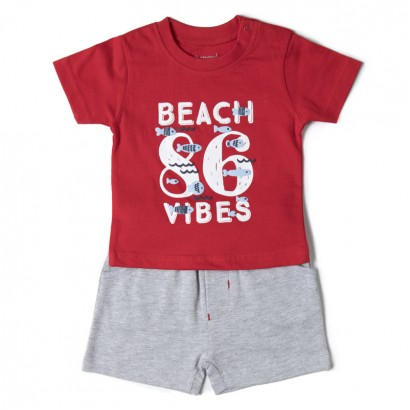 Baby Boys Beach Shorts Set Babybol