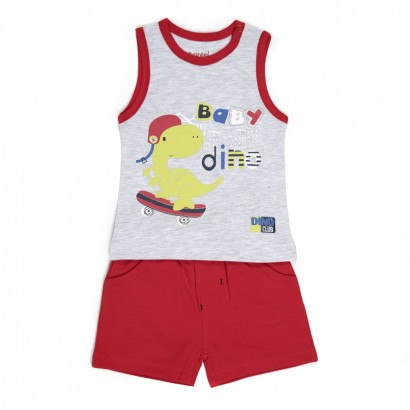 Baby Boys Vest and Shorts Set Babybol