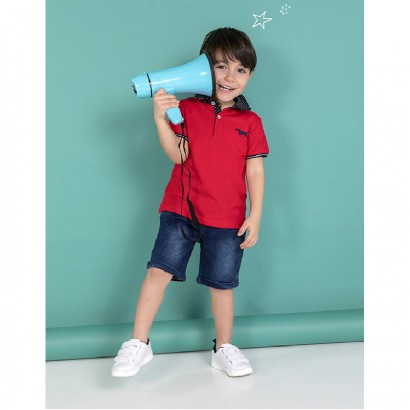 Baby Boys Polo and Shorts Set Babybol
