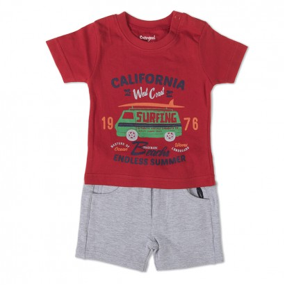 Baby Boys T-shirt and Shorts Set Babybol