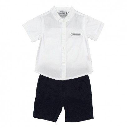 Baby Boys Shirt and Shorts Set Babybol