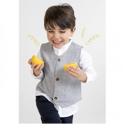 Baby Boys Set of Shirt, Waistcoat and Trouser Babybol