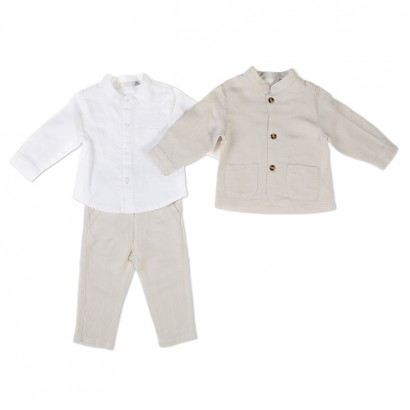 Baby Boys 3-Piece Trouser Set Babybol
