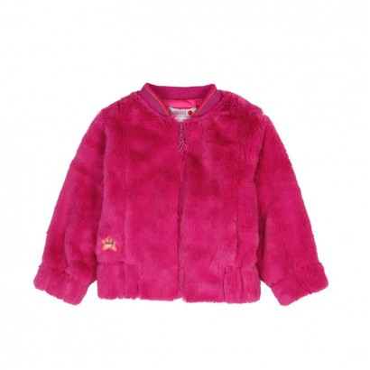 Baby Girls Fur Bomber Jacket Boboli