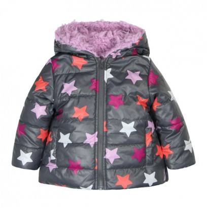 Baby Girl Reversible Jacket Boboli