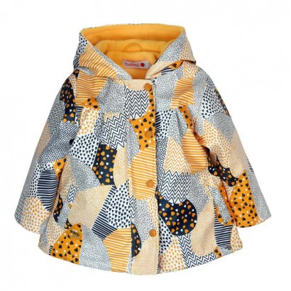 Baby Girl Geometric Patterned Jacket Boboli