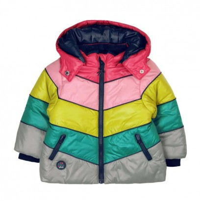 Baby Girl Color-Block Jacket Boboli