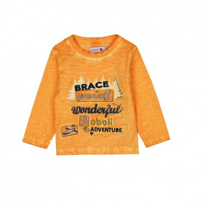 Baby Boy Long sleeve Tee Boboli Wonderful adventure