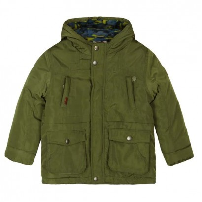 Boys Lined Hooded Coat Boboli