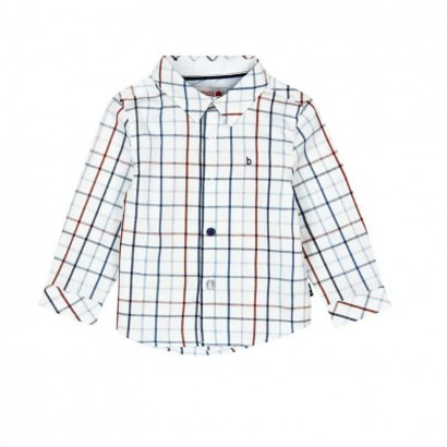 Baby Boy Checked Long-Sleeve Shirt Boboli