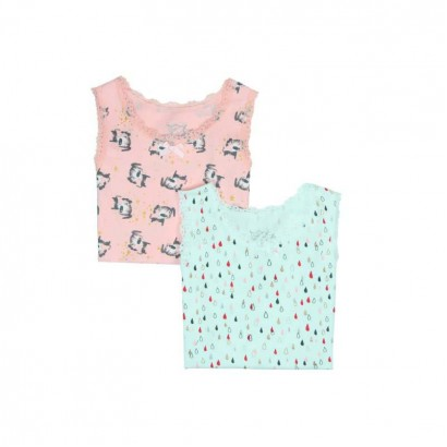 Girls Set of 2 Singlets Boboli