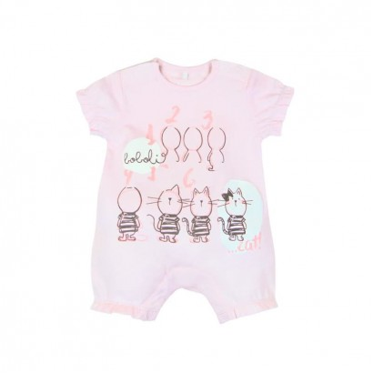 Baby's overalls Boboli with kittens