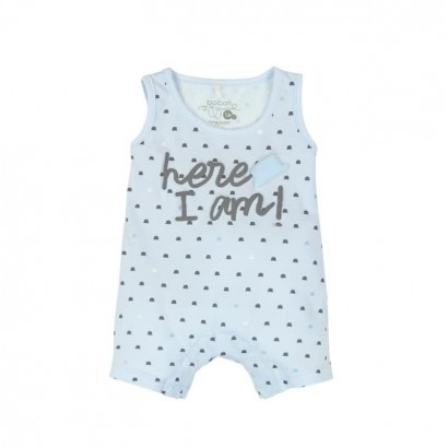 "Baby's overalls Boboli ""Here I am"" for boy"