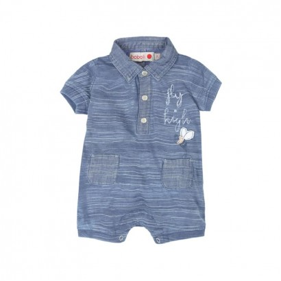 Baby's overalls Boboli with a collar