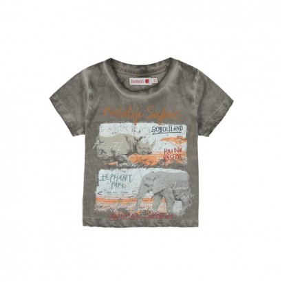 "Children's T-shirt Boboli ""Elephant park"" for boy"