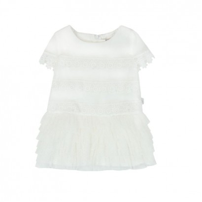 Children's dress Boboli with lace