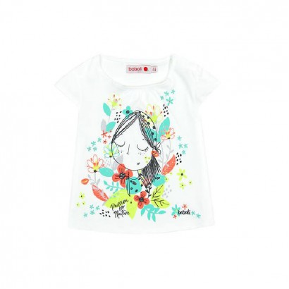 Girls Printed Patterned T-shirt Boboli
