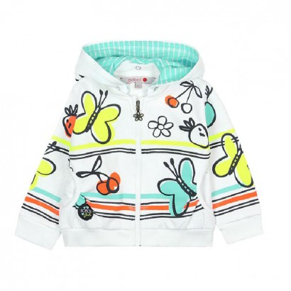 Girls Hooded Sweatshirt Boboli