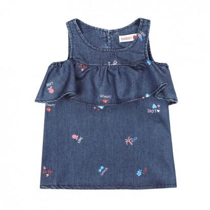 Girls Patterned Top Boboli