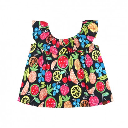 Girls Frill Blouse Boboli