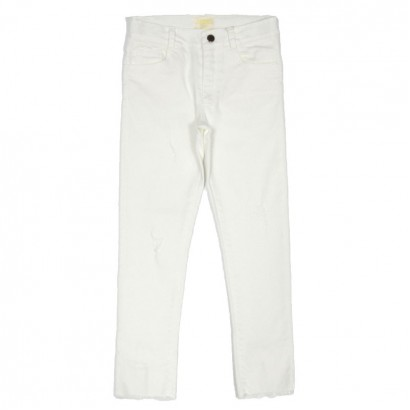 Kids Jeans for Girls Contrast