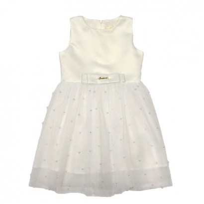 Kids Tulle Dress Contrast