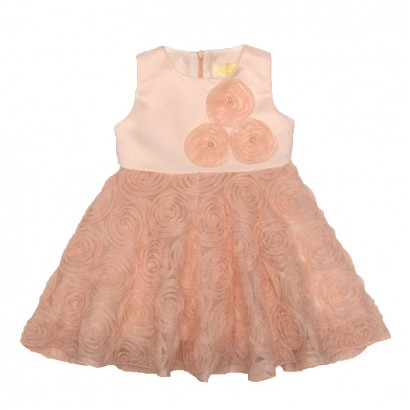 Baby Dress Pink Dream Contrast