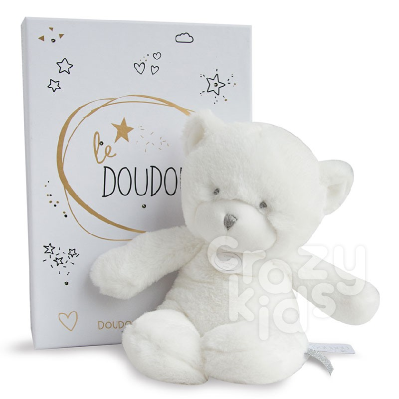 Doudou Plush toy bear with stuffing and baby lights