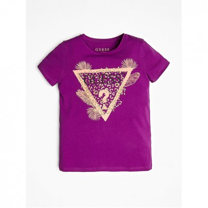 Girls Short Sleeve T-shirt Guess Kids