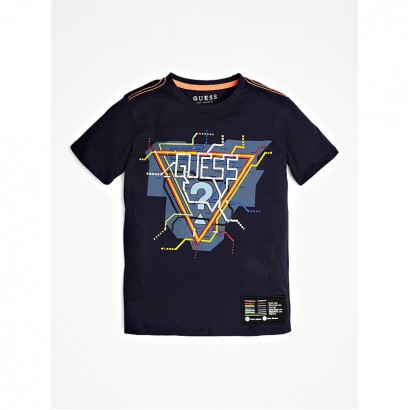 Boys Print T-shirt Guess Kids