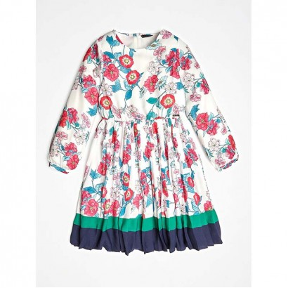 Puff Sleeves Dress Guess Kids