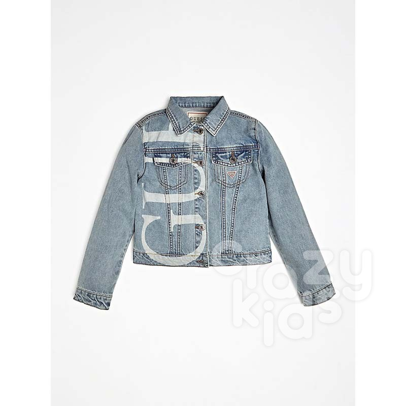 Girls Jean Jacket Guess Kids