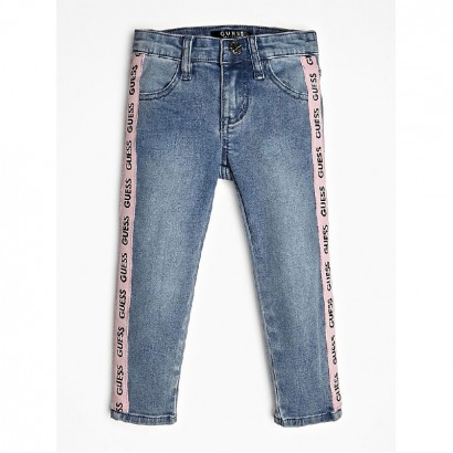 Girls Side Striped Jeans Guess Kids