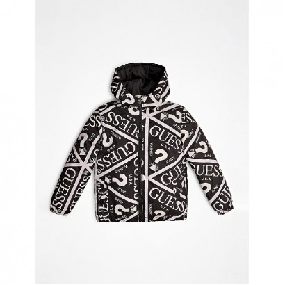 Girls Printed Jacket Guess Kids