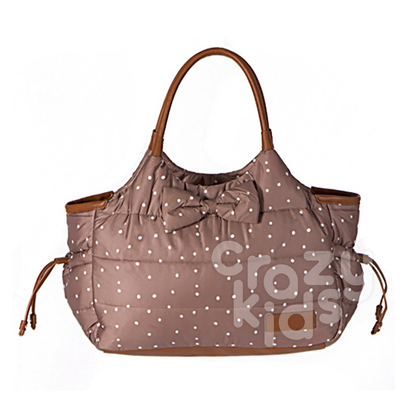 Kikka boo Mama Dotty Bag Brown