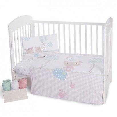 Kikka boo Baby Beddings Set 5 Pieces Fantasia