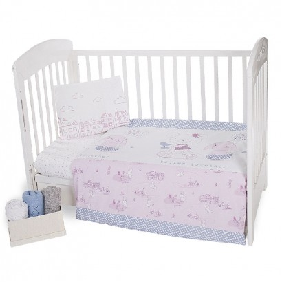 Kikka boo Baby 5-Piece Bedding Set Better Together