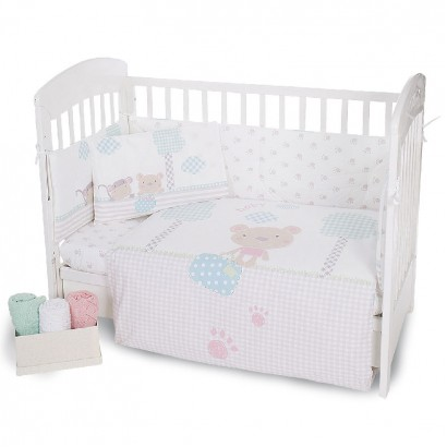 Kikka boo Baby Beddings Set 6 Pieces Fantasia 70-140