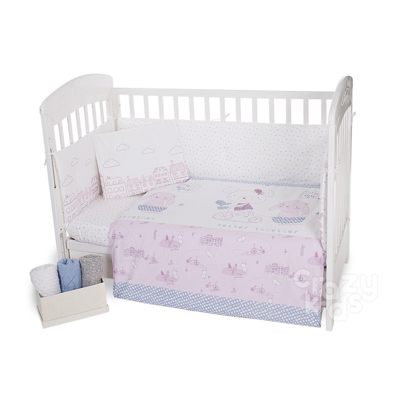 Kikka boo Baby Bedding Set 6 Pieces Better Together 70-140