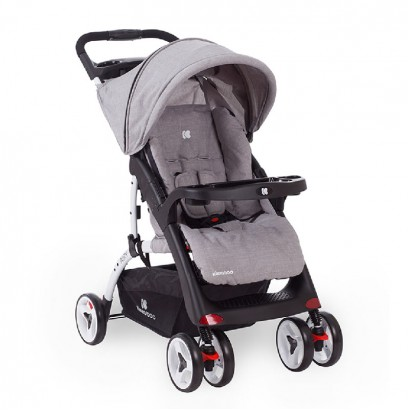 Baby Summer Cart Airy Light Grey Melange