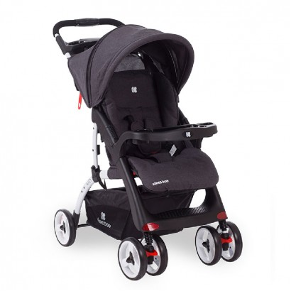 Baby Summer Cart Airy Dark Grey Melange