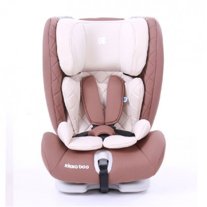 Kids Car Seat Viaggio Brown Kikkaboo Isofix