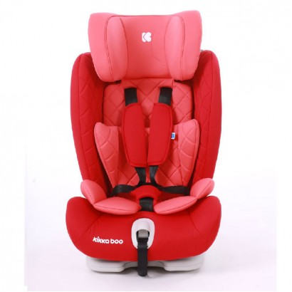 Kids Car Seat Viaggio Red Kikkaboo Isofix