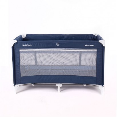 Baby Cot Kikka Boo So Gifted Navy 2 levels