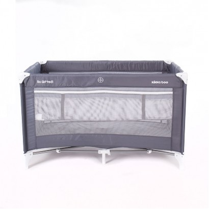 Baby Cot Kikka Boo So Gifted Grey 2 levels