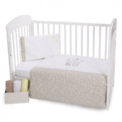 Kikka boo Baby Embroidered Bedding Set 3 Pieces Little Dreamer