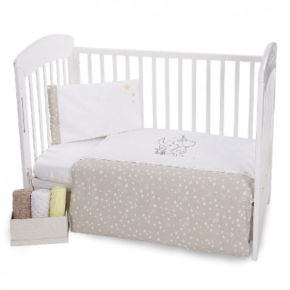 Kikka boo Baby Embroidered Bedding Set 5 Pieces Little Dreamer